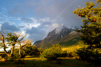 A View from Ecocamp Patagonia